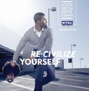Recivilize yourself, publicité NIVEA USA
