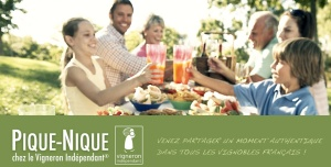 Vignerons indépendants Pique nique 2012